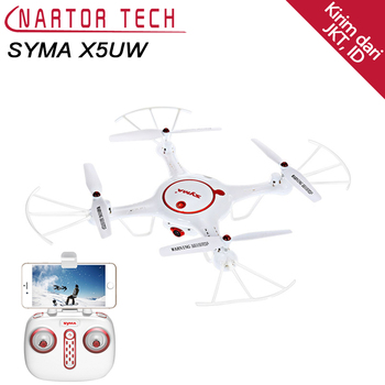 Syma X5UW Drone with WiFi Camera HD 720P Real-time FPV Quadcopter 2.4G RC Helicopter Drone Quadrocopter One Key Land Drone
