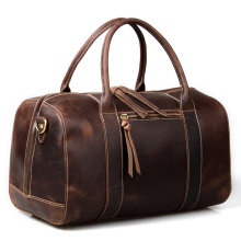 Cattle crazy horse vintage leather handbag large bag travel bag cowhide cross-body male 30703 luggage