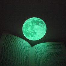 3D Luminous Planet Wall Stickers World Moonlight Glow In The Dark Waterproof Earth Wall Decals For Kids Rooms Home Decor