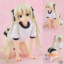 Classic 21cm PVC Anime Sex Doll Animeanime Yosuga No Sora Haruka Kasugano Sora Gym Suit 1/4 Scale Adult Action Figure Collection