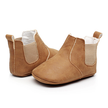 Baby Girls Boys Shoes Infant Toddler Sneakers First Walker Kids Non-slip Boots PU Leather Prewalkers Moccasins Newborn Shoes