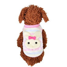 Cute Rabbit Knitted Pet Cat Dog Puppy Warm Coat Clothes Vest Jacket Apparel Costume Bunny style apparel pet winter supply