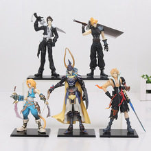 11-18cm Anime 5 Pcs/Set Final Fantasies PVC Action Figure Toys Final of Fantasy Toys Collectible Model Toy