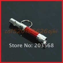 Whistle Light Portable Compass Keychain Keyring 20pcs/lot New Climbing Travel #H030#(China)