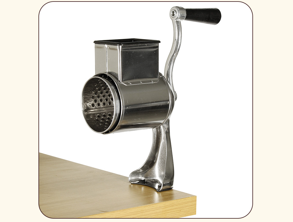 Manual table top mounted nut seed grinder_05