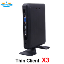 Partaker Embedded Linux Thin Client X3 With Dual Core 1.5GHz PC Station RDP 7.1(China)