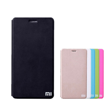 For Xiaomi redmi 2 3 redmi Note Note 2 Note 3 4 Pro Mi4 Mi4C Mi5 Mi 5S case leather cover luxury fundas flip for Original xiaomi
