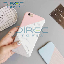 2017 Fashion DIRECTopia Marble TPU Silicone Case For iPhone 7 6 6s Plus Samsung Galaxy S8 Plus S7 Edge Cases Crystal Cover