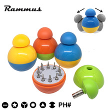 Portable 10 in 1 Tumbler Screwdriver Screw Set Hand Repair Kit For Cellphone Mobile Phone Watch Tablet PC Laptop Camera Trox Toy