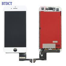BTDCT AAA Quality Replacement LCD Display For Apple iPhone 7 LCD Touch Screen Digitizer Assembly With free tools 100pcs/lot