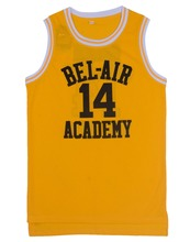 EJ Basketball Jersey #14 Will Smith #25 Carlton Alfonso Banks The Fresh Prince Of Bel-Air Jersey Sewn(China)