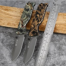 Outdoor tool high hardness covered folding knife camping tactical knife portable knife multi-function survival folding knife
