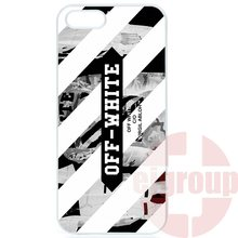 Phone Case Skin Cover For Apple iPhone 4 4S 5 5C SE 6 6S 7 7S Plus 4.7 5.5 iPod Touch 4 5 6 Off White Virgil Abloh