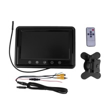 9 Inch LCD Monitor Rear View Computer Monitor DVD VCR Headrest HD AV as Computer Screen Parking Auto-monitores