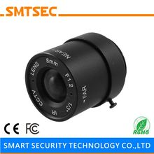 "SMTSEC SL-8012F 8.0mm F1.2 1/3"" CS Mount 40 Degrees Fixed Iris Lens for CCTV Surveillance IP Camera"