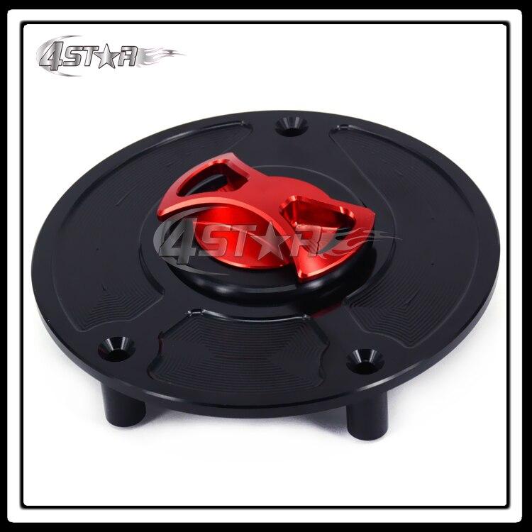 Billet CNC Red Black Gas Fuel Tank Cap Cover For CBR600RR CB600F CB900F CBR250RR CBR400RR CBR1000RR CBR1100 CBR1100XX<br>