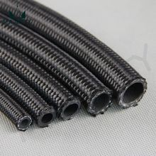 STAINLESS STEEL/NYLON BRAIDED 8AN AN8 8-AN OIL/FUEL/GAS LINE/HOSE 1Meter BLACK