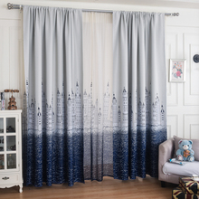 1PC curtains for kitchen sheer bedroom windows treatments rideaux voile curtains for living room tulle sheer(China)