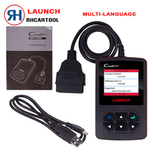 100% Original Launch Creader V+ OBD2 code Reader scanner CReader V Plus OBDII diagnostic tool Update Free online