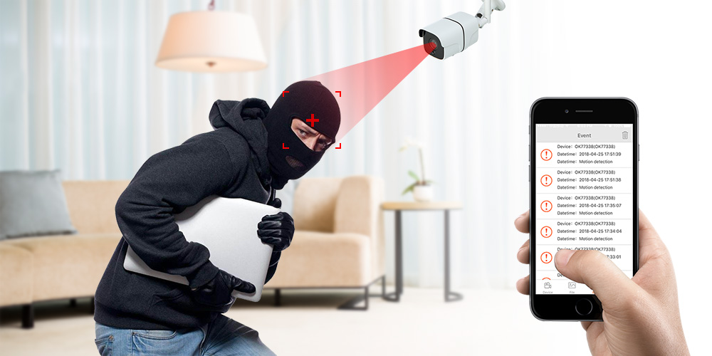 mg201 motion detection alarm