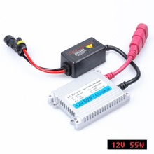 2016 Direct Selling Promotion 2pcs 12v Xenon Ballast 55w Digital Slim Block Ignition Electronic For Kit H7 H4 H1 H3 H11