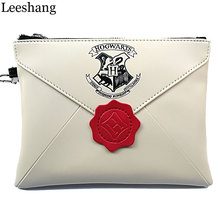 Leeshang Harry Potter :Wizards Unite Wristlets Ladies Bag Handbag Clutch Wallet Woman Zipper Organizer Purses Student Handbags(China)