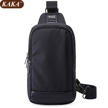 KAKA 2017 Unisex Fashion Men and Women Messenger Bags Cross Body Shoulder Chest Bags Packs Water Shape Lovers' Favorite D154(China)