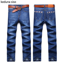 Buy 2016 Autumn Mens Biker Jeans Men homme Casual Denim Straight Design Blue Cheap Clothes China Brand Clothing Fog Jeans Men hombre for $14.99 in AliExpress store