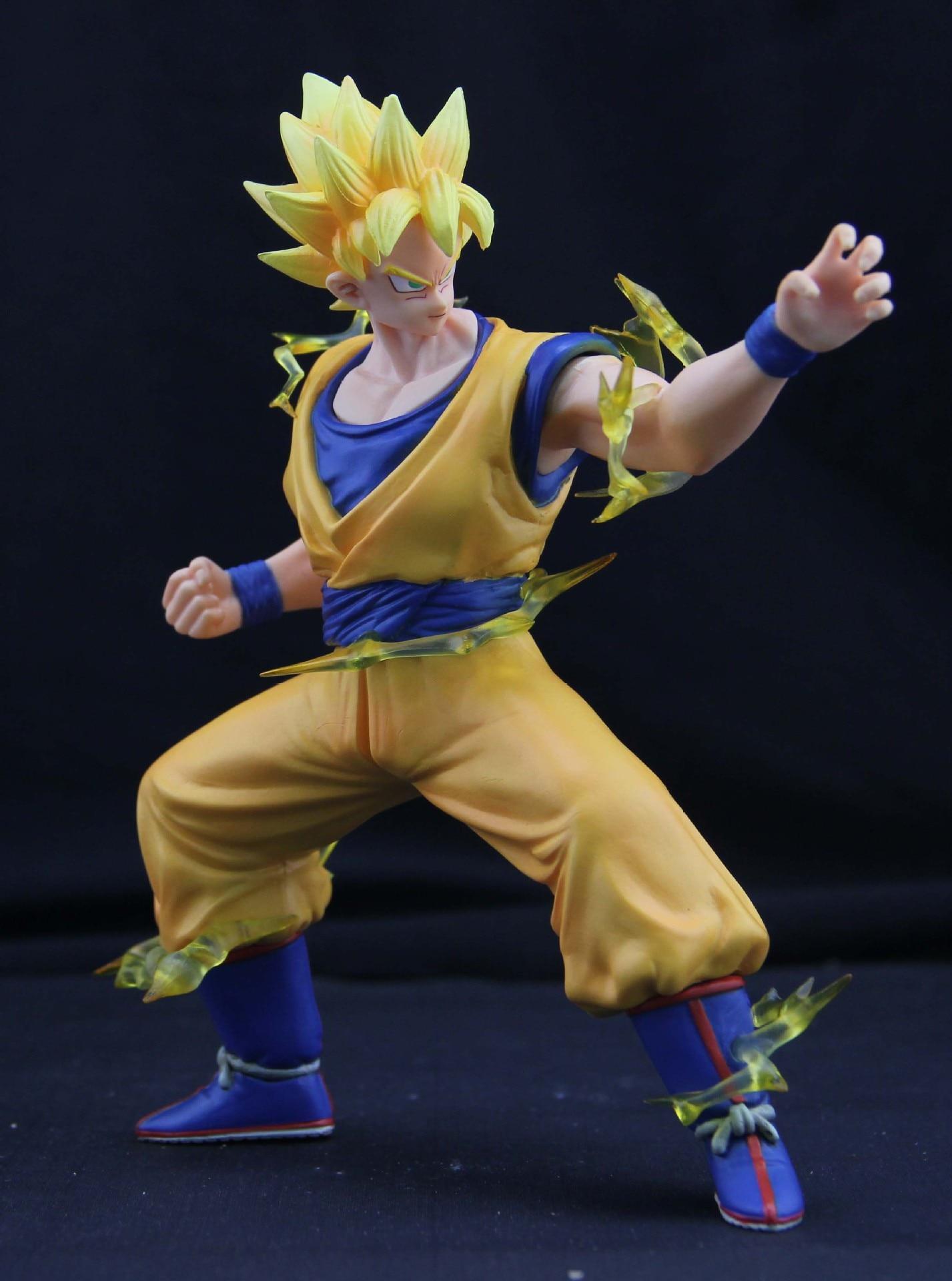 Anime Dragon Ball Z Son Goku 1/8 scale Second Ver. Saiyan  PVC Action Figure collectible Model Toys 17cm  KT1335<br><br>Aliexpress