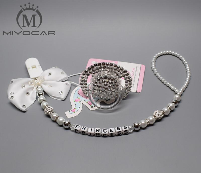 MIYOCAR all name hand made bling crystal rhinestone princess Baby ... 730b23df164b