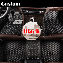 Special make car floor mats for Audi A8 L A8L 3D foot case all weather car styling rugs custom perfect carpet liners
