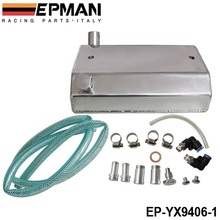 EPMAN Alloy Aluminium 1L Oil Weilding Catch Can Square Tank Polished EP-YX9406-1(China)