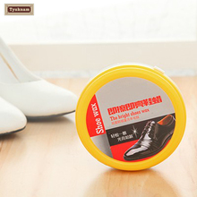 Leather Shoes Boots Polish Protect Mirror-Gloss Stain Shine Wax Paste Professional 42g