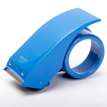 Free shipping deli 801 sealing device tape cutter packager 4.8cm tape rubber sealing tool carton sealer tape dispenser(China)