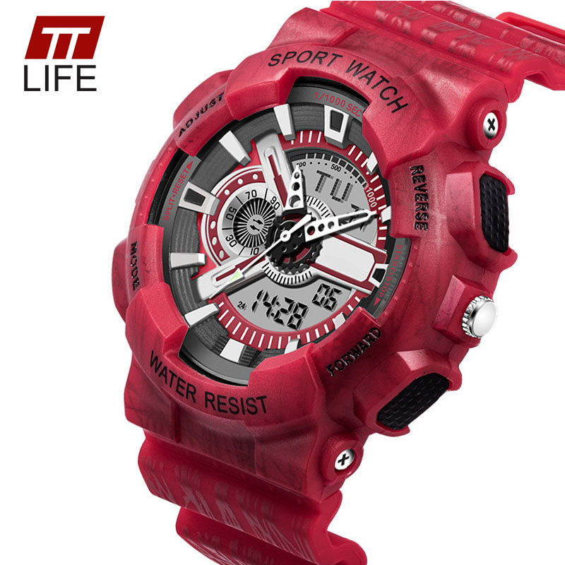 TTLIFE Luxury Brand Mens SportsWatches Dive 30m Digital LED Military Watch Men Fashion Casual Electronics Wristwatches Hot Clock<br><br>Aliexpress