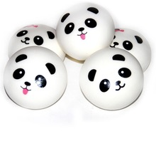 New Arrival 1PCS Beautiful Design Cute 10cm Squishy Charms Buns Cell Phone Charm Kawaii Jumbo Panda Key Bag Straps Pendant(China)
