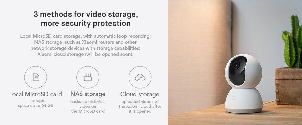 Original Xiaomi MiJia 1080P 360 Degrees Home Panoramic WiFi IP Camera