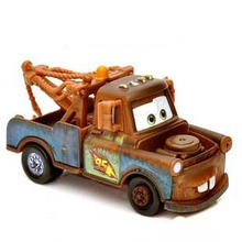 Pixar Cars Diecast Town Mater Metal Toy Car For Children 1:55 Loose Brand New In Stock  McQueen Alloy toy car