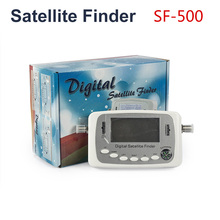 [Genuine] SF-500 Digital Satellite Finder Signal Meter Finder Support DVB-S DVB-S2 Satellite Signal Free Shipping