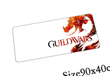 guild wars 2 mouse pad locked edge pad to mouse notbook computer mousepad High-end gaming padmouse gamer to keyboard mouse mats