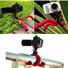 Universal Colors Car Phone Holder Flexible Octopus Tripod Bracket  Stand Mount Monopod For Mobile Phone Samsung Camera