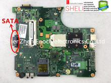 V000148150 for Toshiba satellite L350D L355D laptop motherboard 6050A2175001-MB-A02 SATA D,send one AMD cpu free. SHELI stock