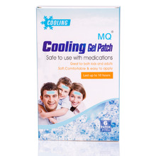 6 Patches/ Boxes MQ  Fever Patch Ice Cooling Patch 5*12cm Cooling Gel Patch Ice Sheet Hydrogel Cool Fever Plaster