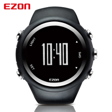 GPS EZON Top Brand Running Sports Digital Watches Men Women Waterproof Clock Dual Time Wristwatch Pedometer Calorie Counter 2016