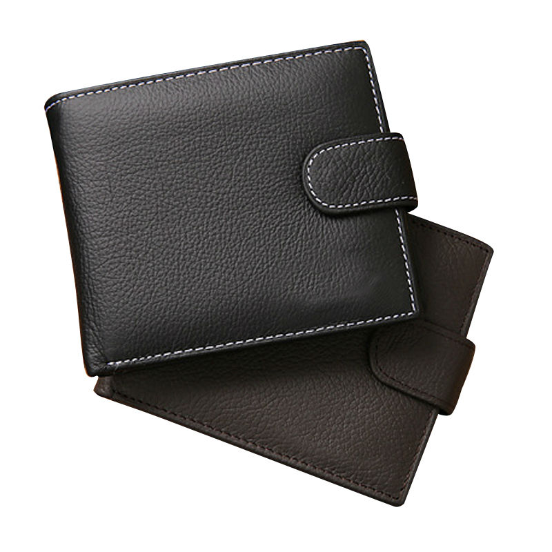 2016 New Vintage Genuine Leather Men Wallet with Coin Pocket Famous Brand Short Design Purse Women Wallets High Quality<br><br>Aliexpress