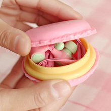 Cute Mini Girl Lovely Kawaii in-ear 3.5 Macaroon Earphone for Apple IPhone 5 5s 6 6s 7 plus Samsung Xiaomi mi5 SONY MP3 MP4 Gift(China)
