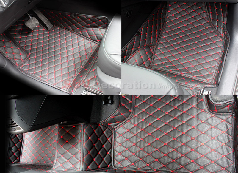 7 Seats For BMW X5 E70 2008 - 2013 Waterproof Leather Carpet Inner Car Foot Mat<br><br>Aliexpress