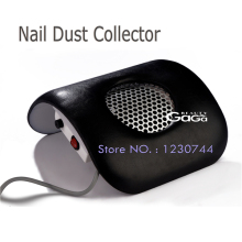 Beauty Nail Dust Collector 110V & 220V Black Color Vacuum Cleaner Cleaning Nail Beauty Equipment Dust Suction