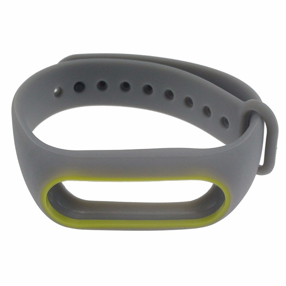 Teyo Colorful Wristband For Xiaomi Mi Band 2 Smart Accessories Replacement Silicon Strap For Xiaomi MiBand 2 Durable Anti Lost 15