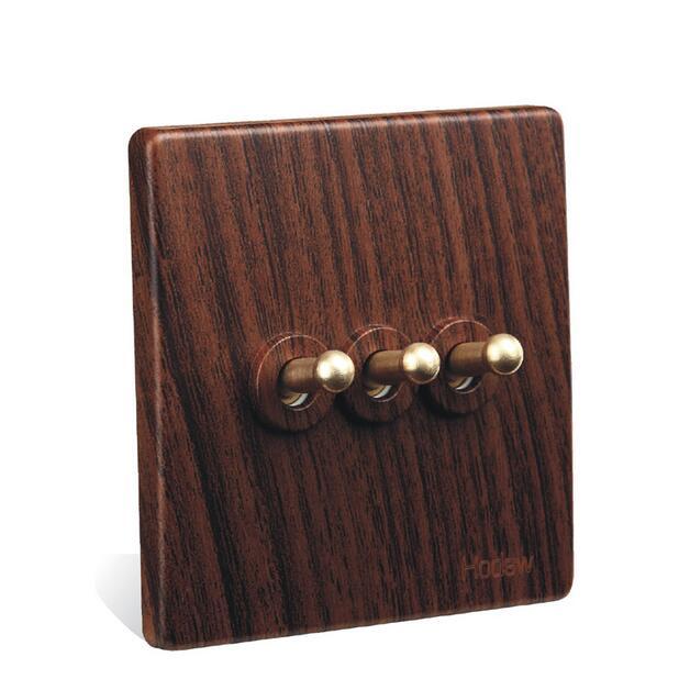 10A wall switch,Fashion British Style light switch,220V-250V DIY toggle switch,UK standard 3 gang 1 way / 2 way<br><br>Aliexpress
